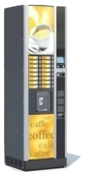 Cafétéria : Vending, Distribution